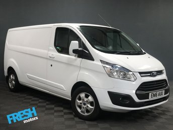 2016 FORD TRANSIT CUSTOM 2.2 290 LIMITED L2H1 £12785.00