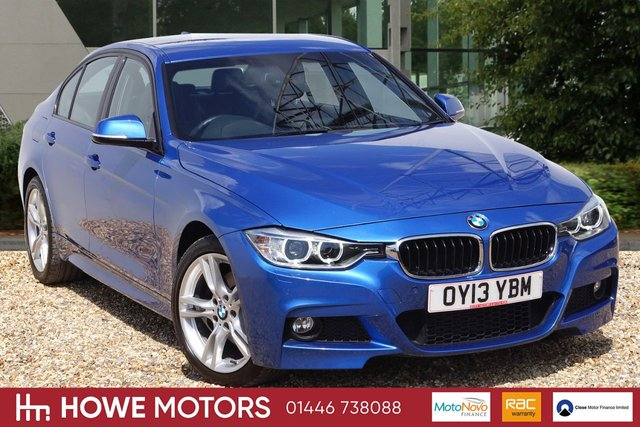 2013 13 BMW 3 SERIES 3.0 330D XDRIVE M SPORT 4dr AUTO 255 BHP NAVIGATION LEATHER RADIO/CD AUDIO WITH DAB PDC BI-XENON HEADLIGHTS 18