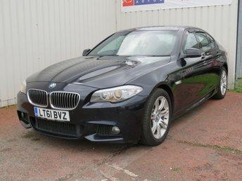 2011 BMW 5 SERIES 2.0 520D M SPORT 4d 181 BHP £6995.00