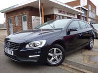 USED 2016 16 VOLVO V60 2.0 D3 BUSINESS EDITION 5d 148 BHP £20 A YEAR TO TAX WITH NAVIGATION AND VOLVO SERVICE HISTORY