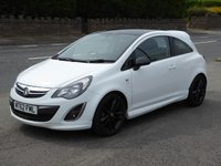 USED 2012 62 VAUXHALL CORSA 1.2 LIMITED EDITION 3d 83 BHP Finance Options Available - Good Credit / Bad Credit