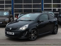 USED 2013 63 VAUXHALL CORSA 1.4 BLACK EDITION 3d 118 BHP