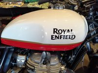 USED 2019 ROYAL ENFIELD INTERCEPTOR 650 BAKER EXPRESS STUNNING COLOUR