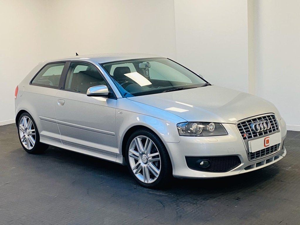 USED 2008 08 AUDI S3 2.0 TFSI QUATTRO 3d 262 BHP TWO TONE LEATHER + SAT NAV + SERVICE HISTORY + PART EX WELCOME