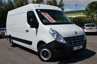 USED 2013 63 RENAULT MASTER 2.3 MM33 DCI S/R 5d 125 BHP L2H2 1 OWNER FROM NEW ~ 2 KEYS ~ AIR CON ~ BLUETOOTH ~ FULL MOT