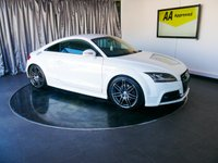 USED 2012 12 AUDI TT 2.0 TFSI QUATTRO S LINE BLACK EDITION 2d AUTO 208 BHP £0 DEPOSIT FINANCE AVAILABLE, AIR CONDITIONING, BOSE SOUND SYSTEM, CLIMATE CONTROL, DAB RADIO, DAYTIME RUNNING LIGHTS, FULL S LINE LEATHER UPHOLSTERY, GEARSHIFT PADDLES, PRIVACY GLASS, STEERING WHEEL CONTROLS, TRIP COMPUTER