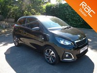 USED 2017 17 PEUGEOT 108 1.2 PURETECH ALLURE 5d 82 BHP Reversing Camera, Alloy Wheels, Bluetooth, Touch screen Radio, DAB