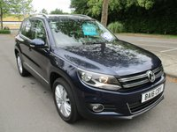 USED 2016 16 VOLKSWAGEN TIGUAN 2.0 MATCH EDITION TDI BMT 4MOTION DSG 5d AUTO 181 BHP WAS £14,995 NOW ONLY £14,495 !!