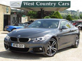 2016 BMW 4 SERIES 3.0 440I M SPORT 2d AUTO 322 BHP £25000.00