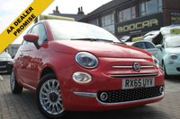 2015 FIAT 500 1.2 LOUNGE 3d 69 BHP £7195.00