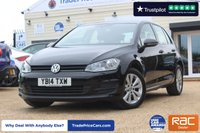 USED 2014 14 VOLKSWAGEN GOLF 1.2 S TSI BLUEMOTION TECHNOLOGY 5d 103 BHP
