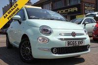2015 FIAT 500 1.2 LOUNGE 3d 69 BHP £6995.00