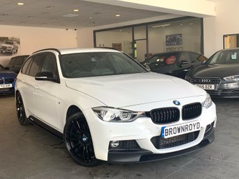 2017 BMW 3 SERIES 3.0 330D XDRIVE M SPORT TOURING 5d AUTO 255 BHP £21950.00