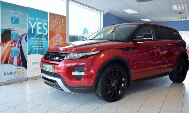 2013 62 LAND ROVER RANGE ROVER EVOQUE 2.2 SD4 DYNAMIC LUX 5d AUTO 190 BHP BLACK STYLING PACK