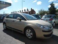 2006 CITROEN C4 1.6 SX 16V 5d AUTO 108 BHP £1495.00