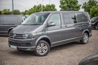 USED 2018 68 VOLKSWAGEN TRANSPORTER T32 HIGHLINE KOMBI LWB TDI DSG (AUTO) GEARBOX 150 BLUEMOTION EURO6 Comfort Dashboard, Sat Nav (Discovery media unit), Front and Rear parking sensors, Reversing Camera, Electric Folding mirrors, Carpet Cabin, Twin Side loading doors - both with power latching soft close, Heated seats front seats, Single front seats with armrests and lumbar support, 2 +1 split rear seats (for versatility and easy removal) + more!