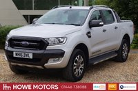 USED 2016 16 FORD RANGER 3.2 WILDTRAK 4X4 DCB TDCI 1d AUTO 197 BHP NAVIGATION DAB RADIO REVERSE CAMERA HEATED LEATHER PDC SYNC BLUETOOTH