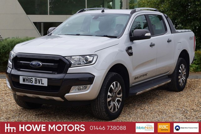 2016 16 FORD RANGER 3.2 WILDTRAK 4X4 DCB TDCI 1d AUTO 197 BHP NAVIGATION DAB RADIO REVERSE CAMERA HEATED LEATHER PDC SYNC BLUETOOTH