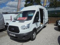 2014 FORD TRANSIT 2.2 350 H/R P/V 125BHP LONG WHEEL BASE HIGH TOP  TOW BAR PLY LINED  !! CHOICE OF TWO !!    £5995.00