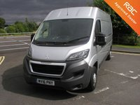 USED 2016 16 PEUGEOT BOXER 2.2 HDI 335 L3H2 PROFESSIONAL 130 BHP VAN - NO VAT SATNAV, AIRCON, ONLY 25000 MILES, FULL SERVICE HISTORY