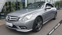 USED 2009 09 MERCEDES-BENZ E CLASS 3.0 E350 CDI BLUEEFFICIENCY SPORT 2d AUTO 231 BHP +ELECTRIC PANORAMIC GLASS ROOF+SAT NAV+FULL LEATHER+HEATED SEATS+XENONS+MORE+