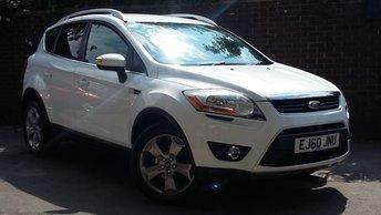 2010 FORD KUGA 2.0 TITANIUM TDCI 2WD 5d 138 BHP £6589.00