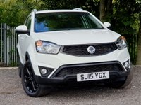 2015 SSANGYONG KORANDO 2.0 LIMITED EDITION 5d 147 BHP £8400.00