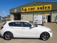 USED 2013 63 BMW 1 SERIES 2.0 116D SPORT 5d AUTO 114 BHP