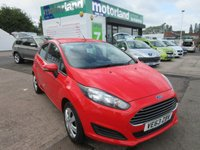 USED 2014 63 FORD FIESTA 1.2 STYLE 5d 59 BHP ***JUST ARRIVED...TEST DRIVE TODAY***NO DEPOSIT DEALS