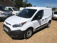 USED 2016 16 FORD TRANSIT CONNECT 1.5 200 P/V 1d 100 BHP EURO 6 * AIR CONDITIONING * 46000 MILES ONE OWNER FROM NEW
