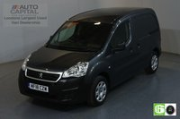 USED 2018 18 PEUGEOT PARTNER 1.6 BLUE HDI PROFESSIONAL SWB 100 BHP EURO 6 AIR CON MANUFACTURER WARRANTY UNTIL 28/03/2021