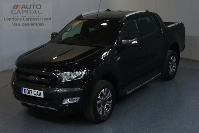 2017 17 FORD RANGER 3.2 WILDTRAK 4X4 DCB TDCI AUTO 197 BHP EURO 6 AIR CON MOT UNTIL 28/03/2020