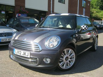2012 MINI HATCH COOPER 1.6 COOPER D 3d 112 BHP
