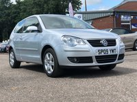 2009 VOLKSWAGEN POLO 1.4 MATCH 3d AUTO 79 BHP £4995.00