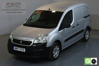 USED 2017 17 PEUGEOT PARTNER 1.6 BLUE HDI PROFESSIONAL SWB 100 BHP EURO 6 AIR CON MOT UNTIL 30/03/2020