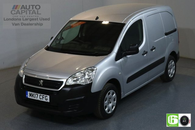 2017 17 PEUGEOT PARTNER 1.6 BLUE HDI PROFESSIONAL SWB 100 BHP EURO 6 ENGINE MOT UNTIL 30/03/2020