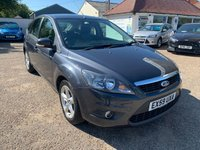 USED 2009 59 FORD FOCUS 1.6 ZETEC TDCI 5d 107 BHP FULL HISTORY X 9 SERVICE STAMPS