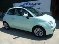 USED 2014 64 FIAT 500 1.2 Lounge (s/s) 3dr 1.2 CC  FINANCE AVAILABLE!