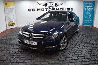 2012 MERCEDES-BENZ C CLASS 2.1 C220 CDI BlueEFFICIENCY AMG Sport Sport Coupe 7G-Tronic Plus 2dr £9365.00