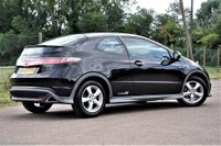 USED 2009 59 HONDA CIVIC 1.4 i-VTEC Type S 3dr Fsh AAwrty LOW MILEAGE