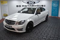 USED 2012 12 MERCEDES-BENZ C CLASS 2.1 C220 CDI BlueEFFICIENCY AMG Sport 2dr