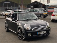 USED 2009 59 MINI CONVERTIBLE 1.6 COOPER 2d 120 BHP *ONLY 57K MILES, BLUETOOTH PHONE, CLIMATE CONTROL!*