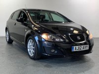 USED 2012 12 SEAT LEON 1.6 CR TDI SE COPA 5d 103 BHP TOP SPEC AND VERY ECONOMICAL MOTOR