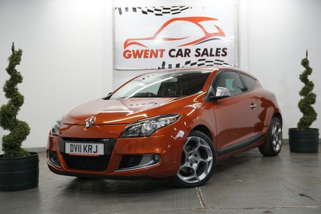 USED 2011 11 RENAULT MEGANE 2.0 GT DCI FAP 3d 160 BHP GREAT EXAMPLE, LOW MILEAGE, SERVICE HISTORY