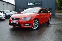 USED 2013 63 SEAT LEON 2.0 TDI FR TECHNOLOGY 3d 150 BHP