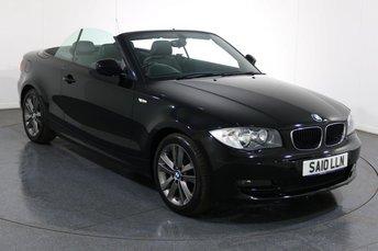 2010 BMW 1 SERIES 2.0 118I SPORT CONVERTIBLE 2d 141 BHP £6995.00