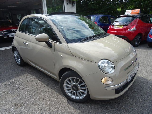 2013 13 FIAT 500 1.2 CONVERTIBLE LOUNGE DUALOGIC 3d AUTOMATIC 69 BHP