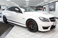 USED 2014 64 MERCEDES-BENZ C CLASS 6.2 C63 AMG EDITION 507 MCT FULL GLASS PANORAMIC ROOF!