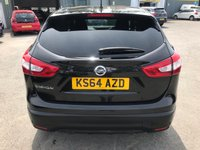 USED 2015 64 NISSAN QASHQAI 1.2 ACENTA PREMIUM DIG-T 5 DOORS 113 BHP ONE OWNER FULL SERVICE HISTORY SAT NAV BLUETOOTH GREAT CONDITION APPROVED CARS AND FINANCE ARE PLEASED TO OFFER THIS NISSAN QASHQAI 1.2 ACENTA PREMIUM DIG-T 5 DOORS 113 BHP IN BLACK. HUGE SPEC INCLUDING ABS,ALLOYS,ELECTRIC WINDOWS,SAT NAV,BLUETOOTH,CD PLAYER,METALLIC PAINT,PANORAMIC ROOF,ONE OWNER AND A FULL SERVICE HISTORY. WE HAVE PRICED THIS CAR TO SELL QUICKLY SO CALL 01622-871-555 TODAY AND BOOK YOUR TEST DRIVE.
