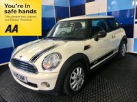 2010 MINI HATCH ONE 1.4 ONE 3d 94 BHP £3695.00